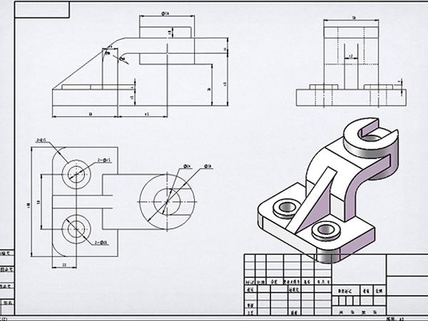 CAD机械制图班